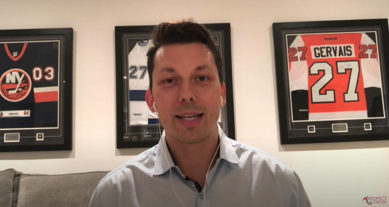 Bruno Gervais et le programme en ligne: Respect et Sport pour le Parent